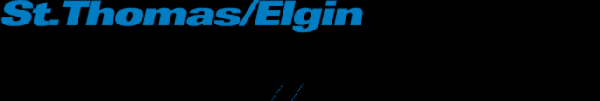 Logo for St. Thomas/Elgin Weekly News