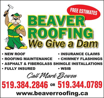 Beaver Roofing - Mark Bowen