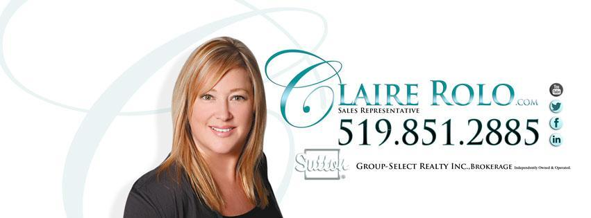Claire Rolo - Sutton Group-Select Realty Inc.